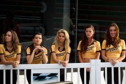 Victory lane: Continental Tire girls
