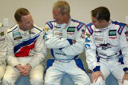 Rolex 24 At Daytona Champions photoshoot: David Donohue, Hurley Haywood and Andrew Davis