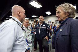 Rolex 24 At Daytona Champions photoshoot: Rob Dyson, Hurley Haywood, Bobby Rahal and Derek Bell