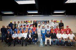 Rolex 24 At Daytona Champions photoshoot