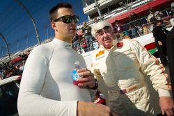 Daytona 24 Heritage fotoshoot: Graham Rahal en Dale Miller