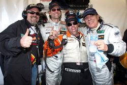 Brian Johnson met Carlos de Quesada en Jim Pace