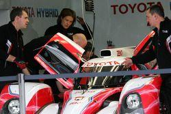 The Toyota Hybrid TS030