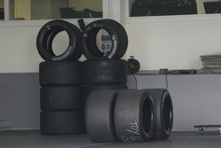 Michelin tires for the Toyota Hybrid TS030