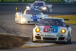 #59 Brumos Racing Porsche GT3: Andrew Davis, Hurley Haywood, Leh Keen, Marc Lieb