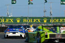 #36 Yellow Dragon Motorsports Mazda RX-8: Jarett Andretti, John Andretti, Taylor Hacquard, Anders K
