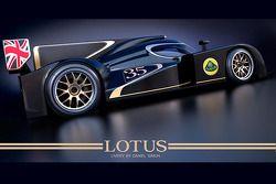 Презентация Lola Lotus LMP2, презентация.