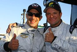 Tony Kanaan en Rubens Barrichello, KV Racing Technology