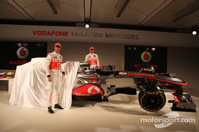 Дженсон Баттон и Льюис Хэмилтон. Презентация McLaren MP4-27, Презентация.