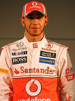 Льюис Хэмилтон. Презентация McLaren MP4-27, Презентация.