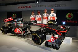Гэри Паффет. Презентация McLaren MP4-27, Презентация.