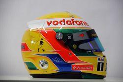 Helm von Lewis Hamilton, McLaren-Mercedes