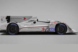 Презентация раскраски Starworks Motorsport, презентация.