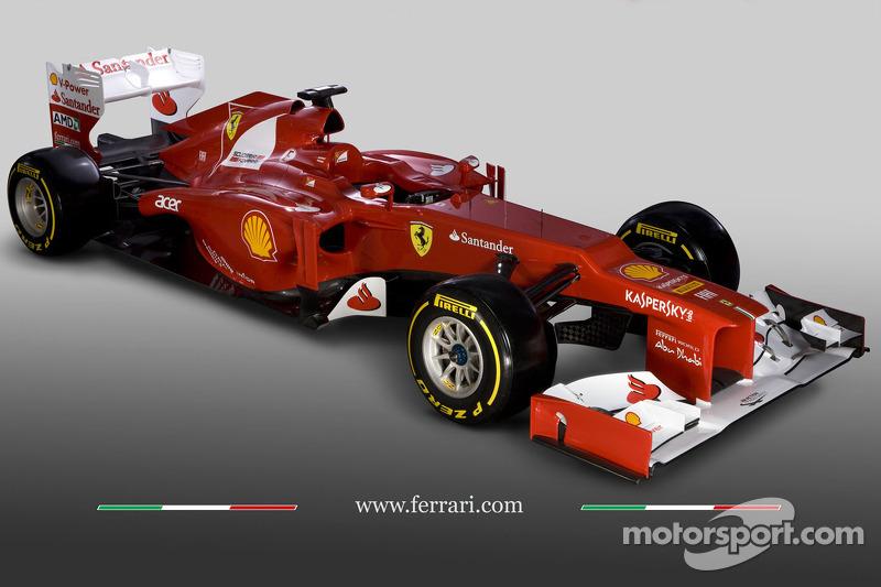 De nieuwe Ferrari F2012