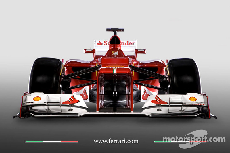 Презентация Ferrari F2012, Студийная съёмка.