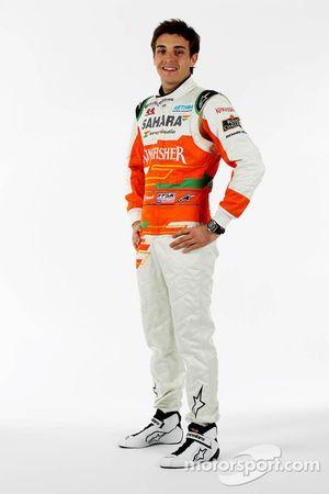 Жюль Бьянки. Презентация Sahara Force India VJM05, Студийная съёмка.