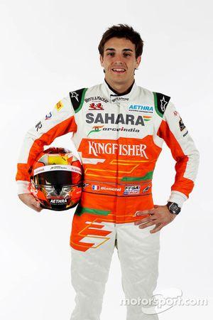 Jules Bianchi, Testfahrer, Sahara Force India F1 Team