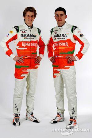 Nico Hülkenberg und Paul di Resta