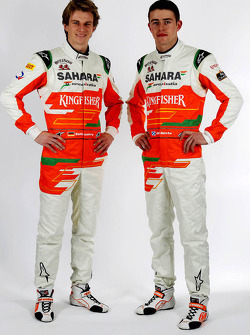Nico Hulkenberg y Paul di Resta