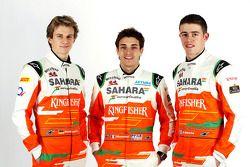 Nico Hülkenberg, Jules Bianchi und Paul di Resta