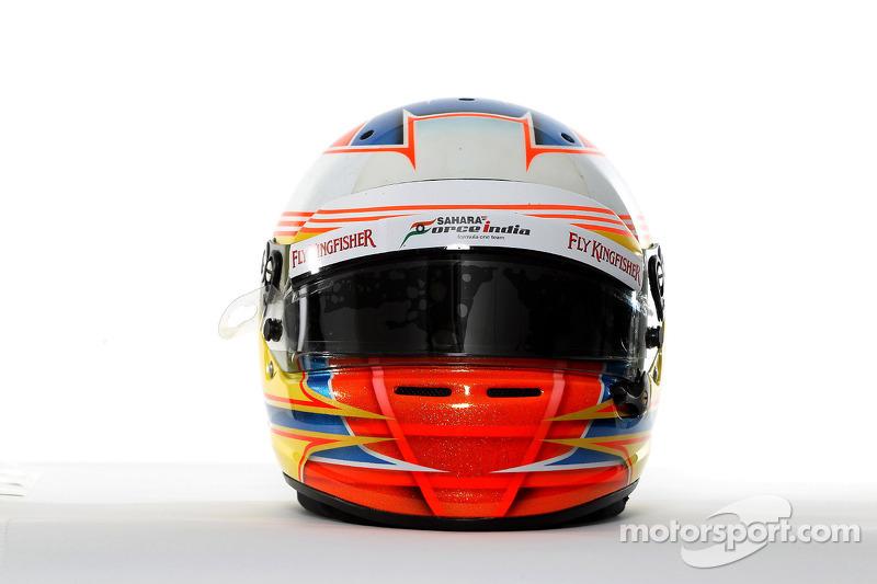 El casco de Paul di Resta