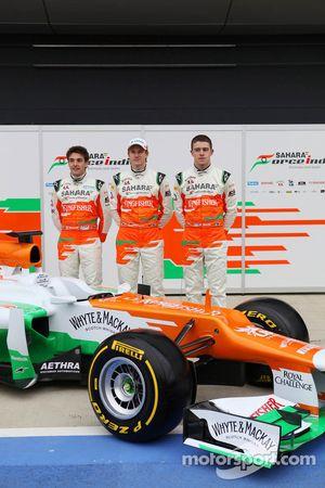 Nico Hulkenberg, Jules Bianchi ve Paul di Resta