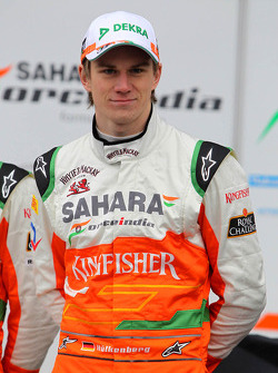 Нико Хюлькенберг. Презентация Sahara Force India VJM05, Презентация.