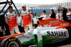 Nico Hülkenberg und Paul di Resta, Sahara Force India F1 Team