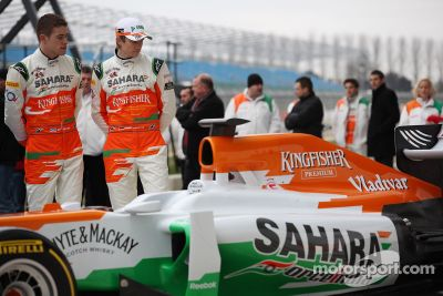 Sahara Force India VJM05, lanzamiento