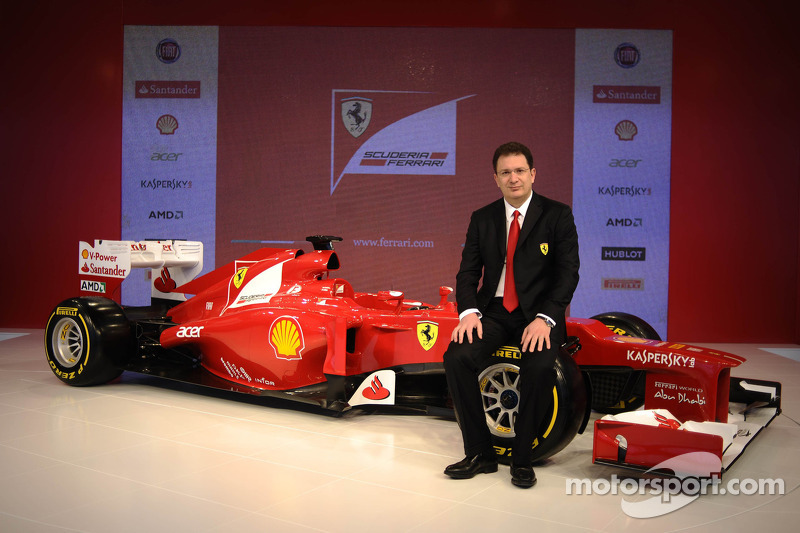 Presentación de la Ferrari F2012