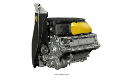 The Ferrari F2012 engine