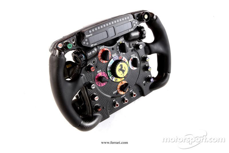 Ferrari F2012 stuurwiel