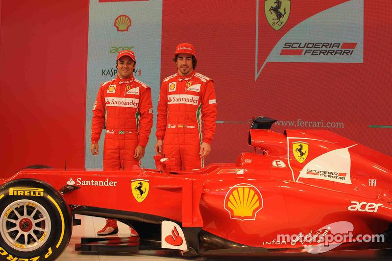 Fernando Alonso en Felipe Massa, Scuderia Ferrari