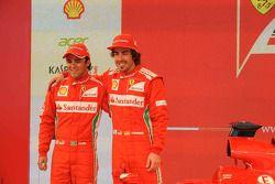 Fernando Alonso e Felipe Massa, Scuderia Ferrari