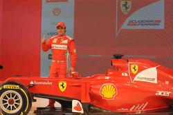 Фелипе Масса. Презентация Ferrari F2012, Презентация.
