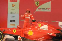 Фернандо Алонсо. Презентация Ferrari F2012, Презентация.