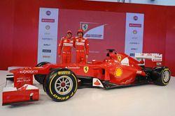 Fernando Alonso ve Felipe Massa, Scuderia Ferrari