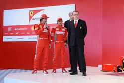Фернандо Алонсо и Фелипе Масса. Презентация Ferrari F2012, Презентация.