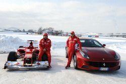 Fernando Alonso ve Felipe Massa ve F2012 ve FF