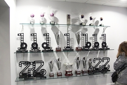 World Series Renault trophies