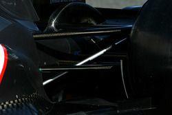 Technical detay, rear suspension - Sauber C31 Ferrari Launch