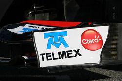 Technical detay, ön kanat - Sauber C31 Ferrari Launch