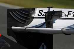 Sauber C31: Heckflügel