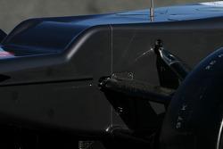 Sauber C31: Frontpartie