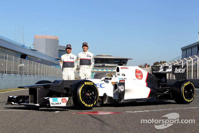 2012: Sauber C31