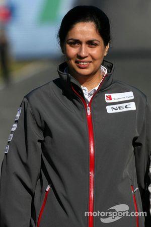 Monisha Kaltenborn, dirigeante Sauber F1 Team