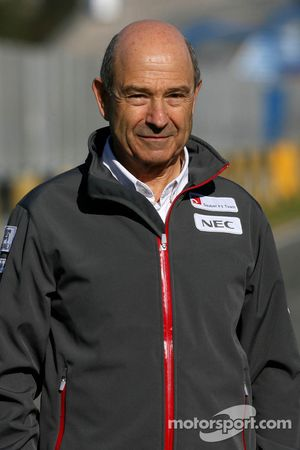 Peter Sauber, propriétaire d'équipe Sauber F1 Team