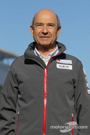 Peter Sauber, directeur d'équipe Sauber F1 Team