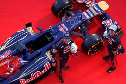 Jean-Eric Vergne ve Daniel Ricciardo, Scuderia Toro Rosso