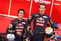 Daniel Ricciardo, Scuderia Toro Rosso y Jean-Eric Vergne, Scuderia Toro Rosso